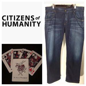 Citizens of Humanity Dylan Boyfriend Crop Jeans